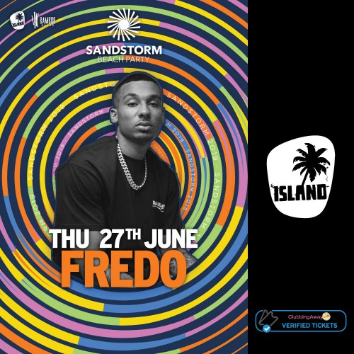 Sandstorm Beach Party - 27th June 2019 - FREDO