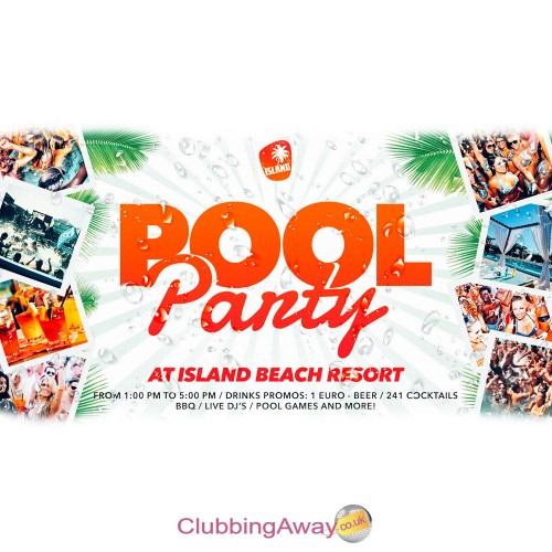 Island Beach Resort Pool Party 2017 | WRISTBAND