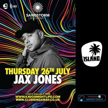 Sandstorm Beach Party - 26th July 2018 - JAX JONES