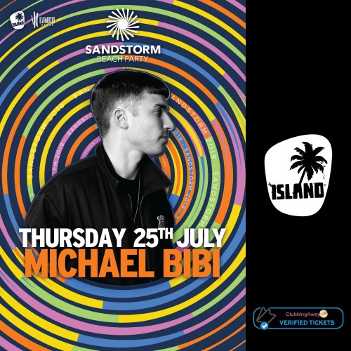 Sandstorm Beach Party - 25th July 2019 - MICHAEL BIBI