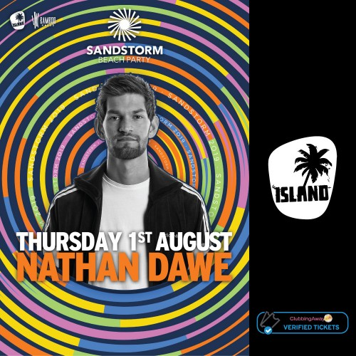 Sandstorm Beach Party - 1st August 2019 - NATHAN DAWE