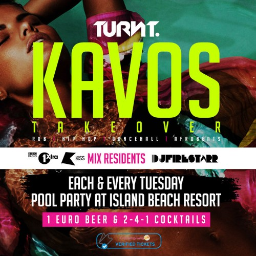 Turnt Tuesdays Pool Party - Island Beach Resort