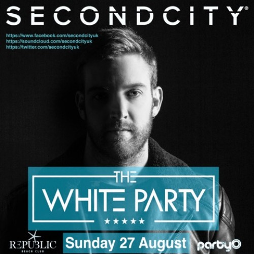 The White Party - 27/08/17 - Second City - Republic Beach Club, Zante