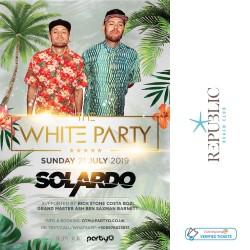 The White Party - SOLARDO - 21st July - Republic Beach Club, Zante