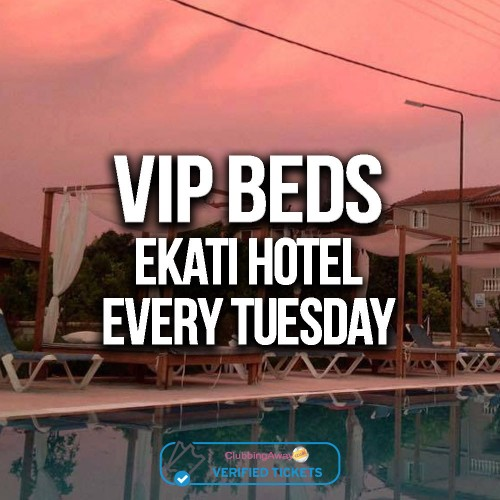 Ekati Hotel Pool Party - VIP Cabana / Bed (2-8 persons)