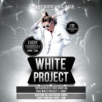 White Project at Quayside Village Hotel, Kavos