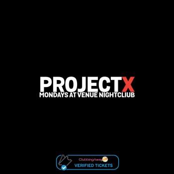 Project X - Mondays at Venue Nightclub, Kavos