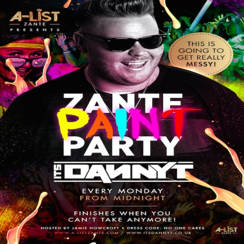 Paint Party with Danny T, Zante